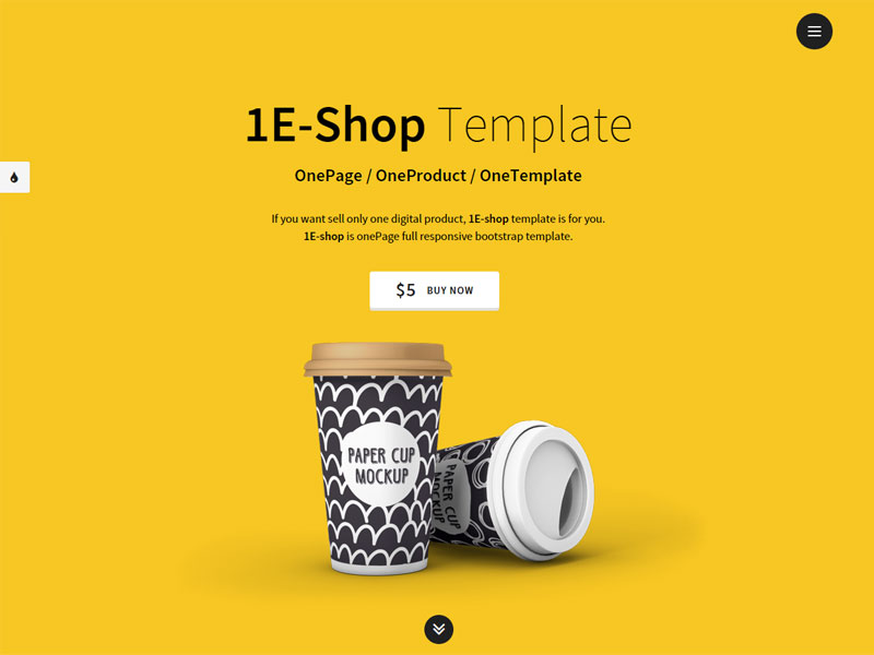 Image - 1E-shop - One-Page Single Product Shop