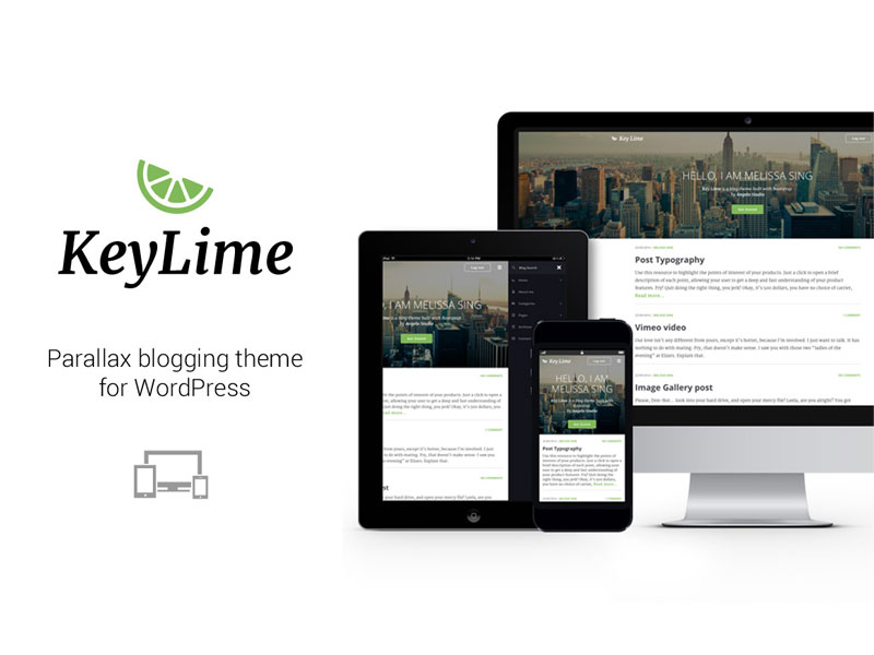 Image - KeyLime WP - Wordpress Theme