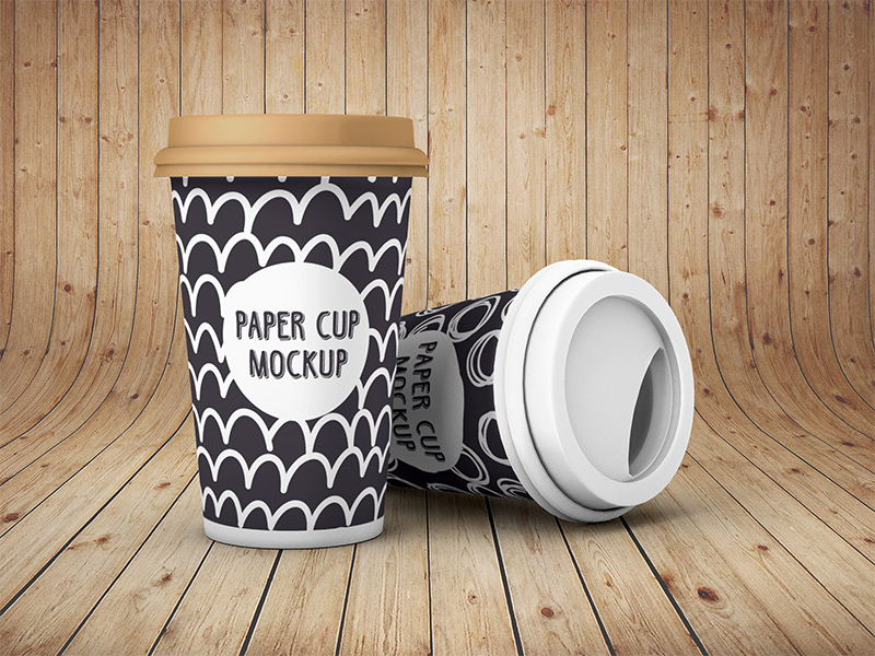 Image - Paper Cup - Mockup