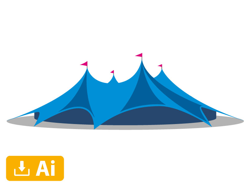 Image - Tent Illustration